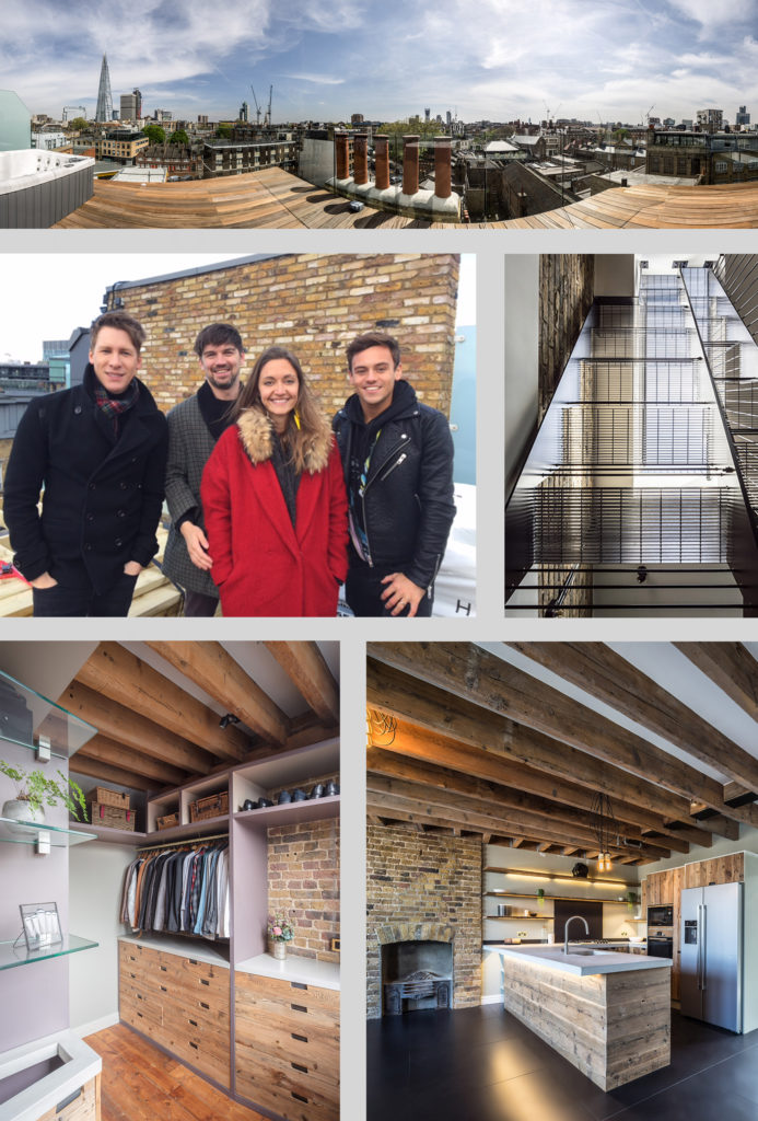 Brandler London Tom Daley S Home Reclaimed Wood